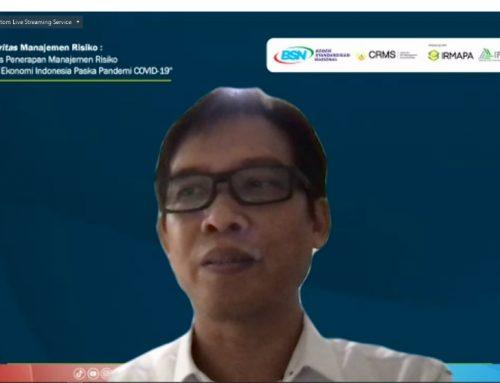 Press Release Webminar Asesmen Maturitas Manajemen Risiko: Evaluasi Efektivitas Penerapan Manajemen Risiko dalam Pemulihan Ekonomi Indonesia Pasca Pandemi COVID-19