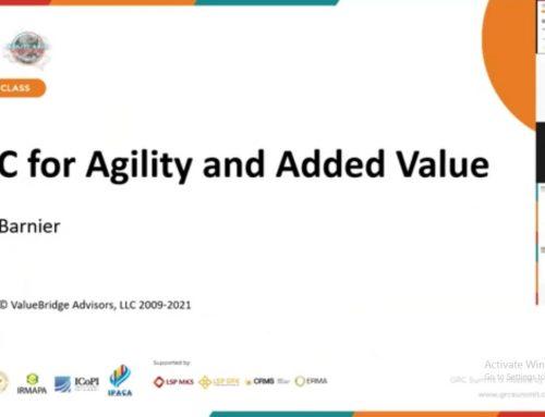 Press Release: Masterclass GRC Summit 2021